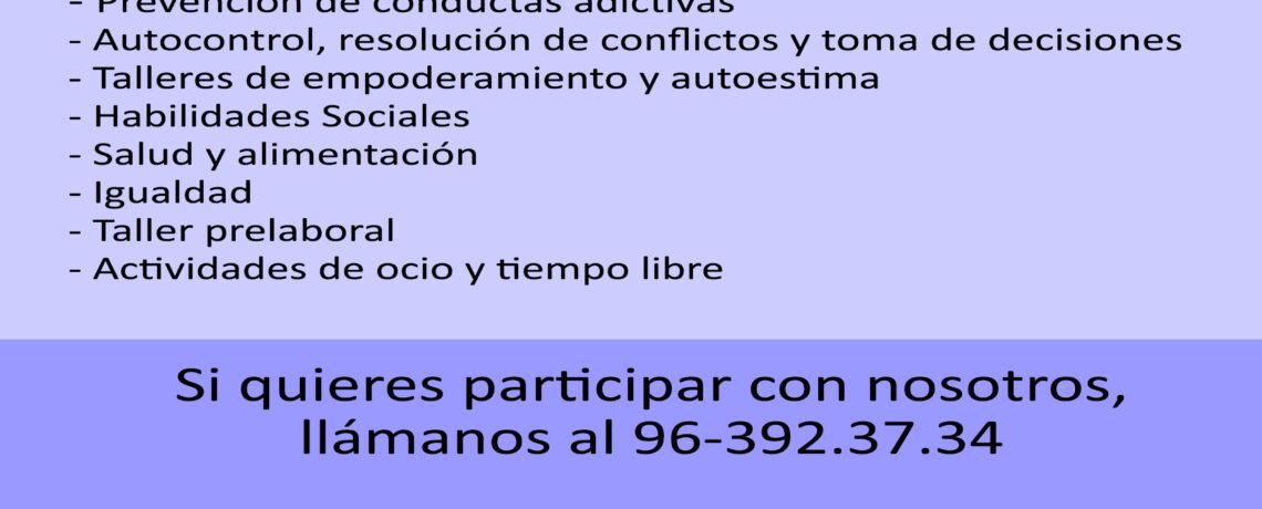 """""""TE ACOMPAÑO"""" ALTERNATIVAS DE OCIO SALUDABLE CON POBLACIÓN GITANA EN EL BARRIO DE FUENSANTA"""